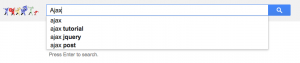 Ajax example google